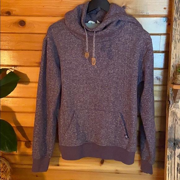 Speckled purple tentree hoodie